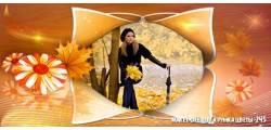 кружка цветы -245